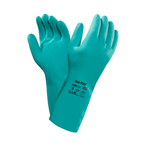 Ansell Sol-Vex Nitrile Rubber Gloves